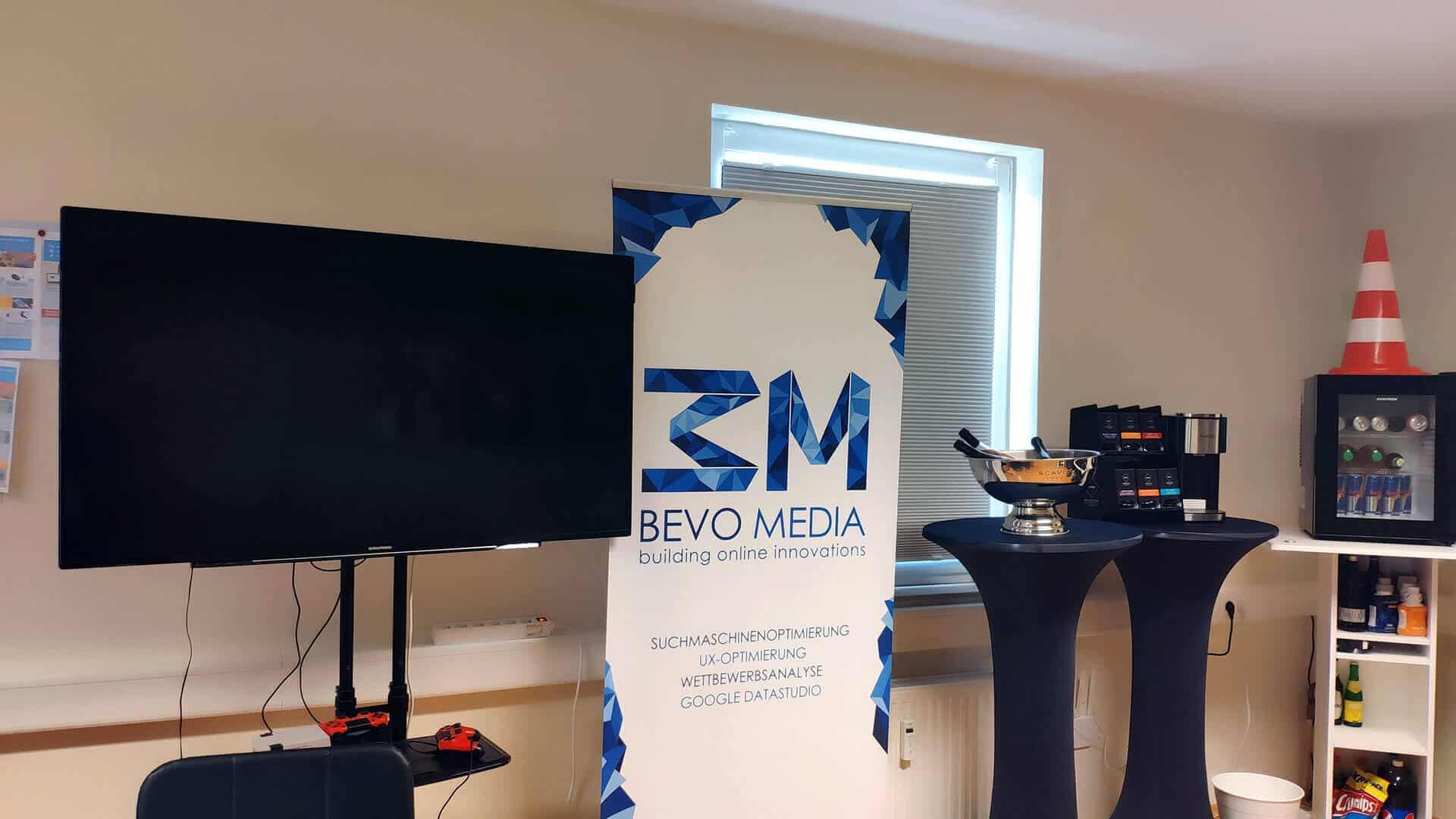 BEVO Media - Büro April 2019